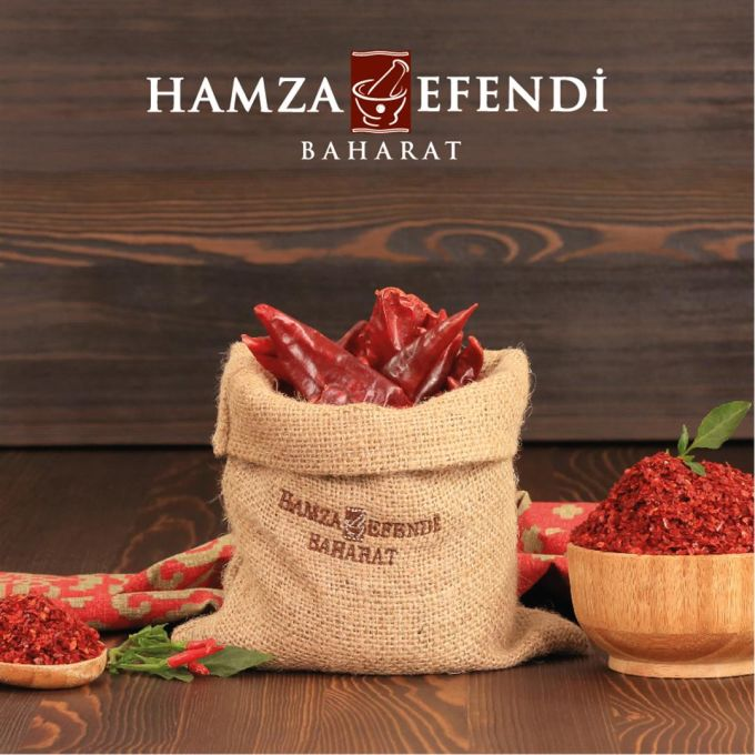 Hamza Efendi Kırmızı Pul Biber 420 Gram