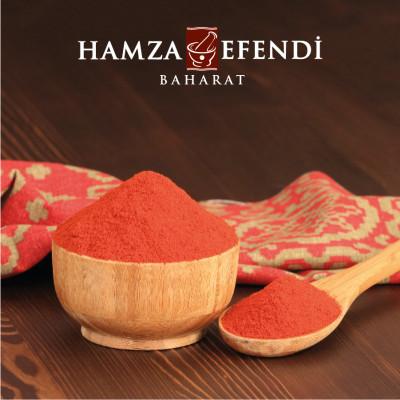 Hamza Efendi Toz Kırmızı Biber 420 Gram - Thumbnail